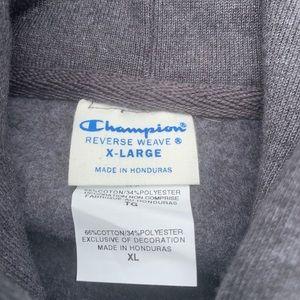 Champion Shirts - CHAMPION MEN'S REVERSE WEAVE PULLOVER HOODIE